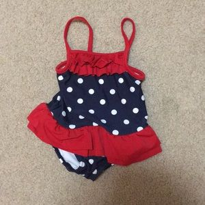 Carter Red White and Blue Bathing Suit